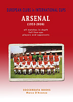 European Clubs in International Cups � Arsenal (1953-2016)