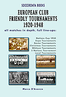 European Club Friendly Tournaments 1920-1948