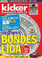 Kicker Sonderheft Bundesliga 2017/18 (Germany Season Preview)