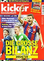 Kicker Sonderheft � Die Grosse Bilanz 2014/15 Finale (German Season Review)
