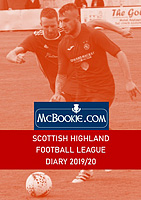 Scottish Highland Football League Diary 2019/20
