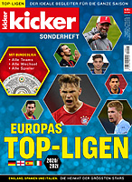 Kicker Sonderheft Europas Top-Ligen 2020/2021 (German European Leagues Preview)