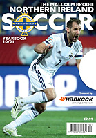 The Malcolm Brodie Northern Ireland Soccer Yearbook 20/21